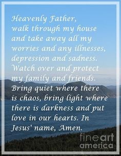... mantra many times a day. This Christian prayer has been known to work