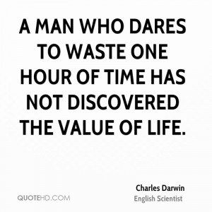 Charles Darwin Time Quotes
