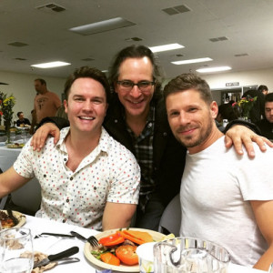 lindcherry:Scott Porter, Jason Katims and Matt Lauria celebrating the ...