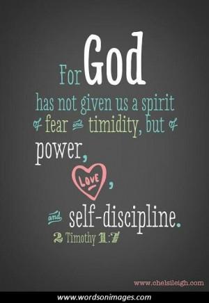 Self discipline q...