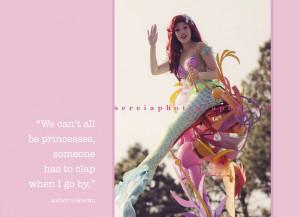 mermaid quote!