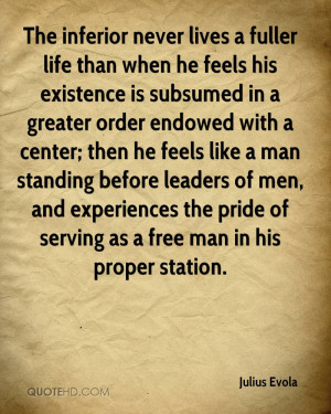 Julius Evola Life Quotes