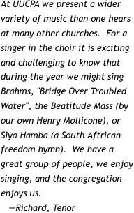Choir quote #2