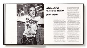 ... essay by John Lydon, aka Johnny Rotten of the Sex Pistols