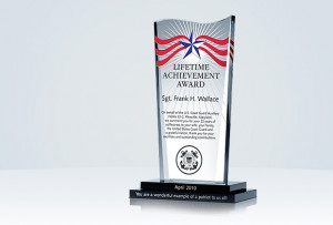 Home » Military Gifts » Military Achievement Plaque