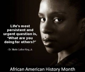This month we celebrate African American history. The timing, and ...