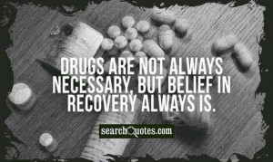 Do you believe in recovery? It does work because there are millions of ...