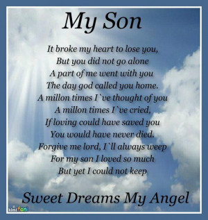 Love you, my Angel Jared...Forever missing you. Stephen Micha ...
