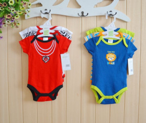 2014 Summer Baby boys clothing set NewBorn overall Baby Boy Sayings ...