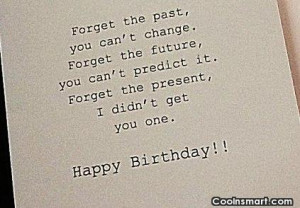 Funny Birthday Quotes and Sayings