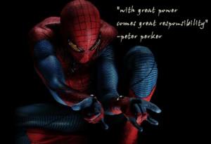 Spiderman Quotes Tumblr I love spider-man... quote