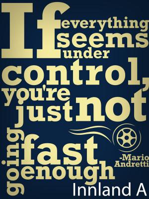 Mario Andretti quote by Vilvitalt