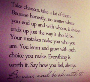 taking chances is such a hard quotes about taking chances in love