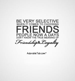friendship, loyalty, quotations » AdorableTab.