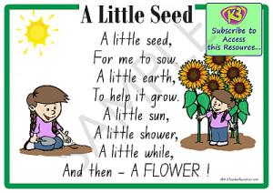 little seed nursery rhyme 1