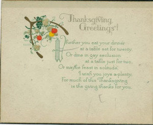 Meaning Thanksgiving Poems