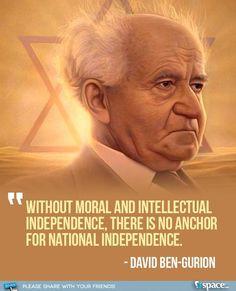 David Ben-Gurion. More