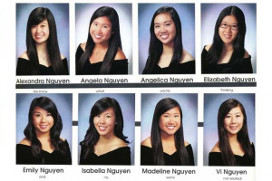 Students With the Same Last Name Offer Perfect Yearbook Quote
