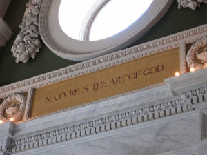 One of many quotes at Library of Congress