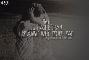 fake #smile #sad #quote #life #MypersonalAnthem #hide