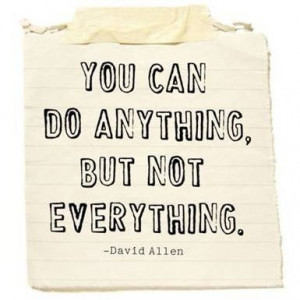 You can do anything... in Quotes & other things