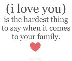 Quotes About Family | ... , love, family, quotes, sayings ...