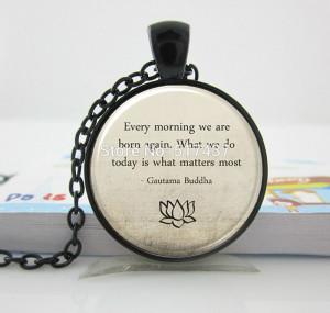 ,Motivational Wisdom Pendant, Inspirational Yoga Jewelry,Motivational ...