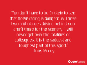 Tony Mccoy Quotes