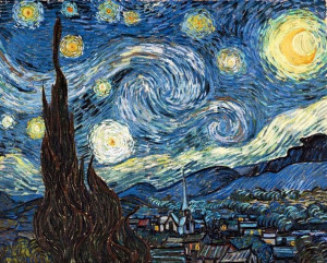 Starry Night Sky by Vincent Van Gogh