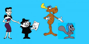 ... Scheduled to Release New Rocky & Bullwinkle Short Film Next Year