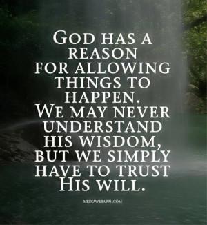 Trust God's plan: God Will, Inspiration, Dust Jackets, Trust God, Amen ...