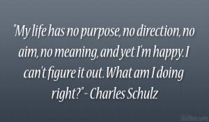 Life Has Purpose Direction