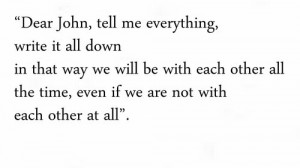 Dear John Quotes Tumblr Dear john movie quotes