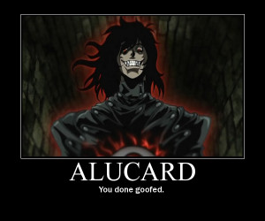 Alucard Hellsing Ultimate Abridged Quotes