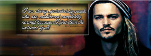 Normal People Johnny Depp New Quotes Facebook Timeline Covers