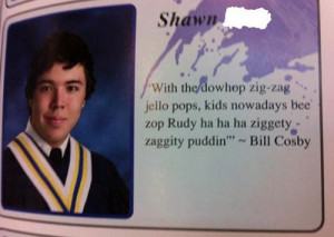 funny yearbook quotes bill cosby