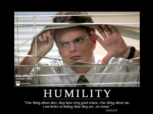 Genuine Humility at it's finest!
