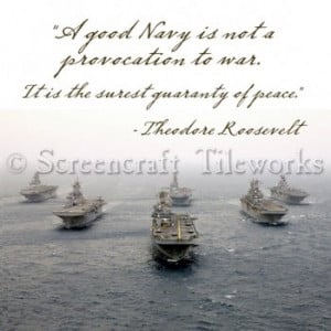 Navy Quotes Inspirational Navy quotes -roosevelt