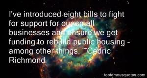 Favorite Cedric Richmond Quotes