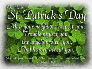 ... quotes | on this st. patrick's day may your neighbors respect you
