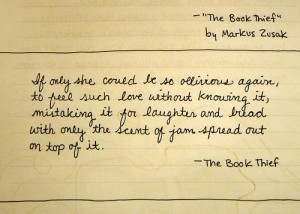 Quotations - the-book-thief-by-markus-zusak Photo