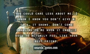 Quotes Fake Friendship About Fuck Friends