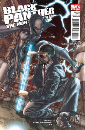 ... the cover of black panther the man without fear 518 quotes ign i don t