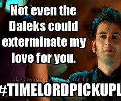 time lord pick up lines - Google Search