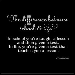 ... lesson.