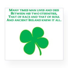 Ancient Ireland Celtic Quote Wine Label for