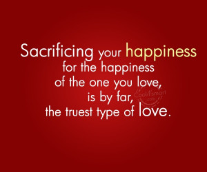 Sacrifice Quotes and Sayings