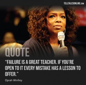 Oprah Winfrey – Quote