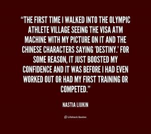 Nastia Liukin Quotes