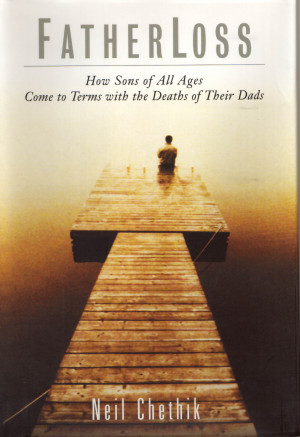 Book cover (jpg) for Neil book, FatherLoss